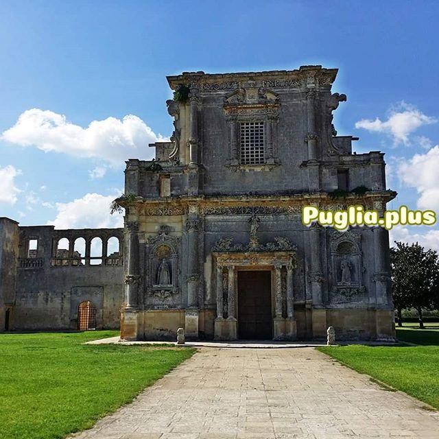 Das Convento degli Agostiniani in Melpignano ist alljährlicher Schauplatz des Abschlusskonzertes der Notte della Taranta im August. #melpignano #ausflugszieleapulien #unterwegsinapulien #salentoerkunden