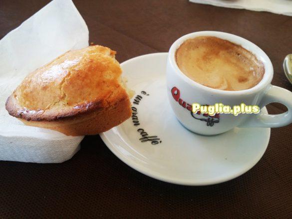 Pasticciotto - Mürbteiggebäck Apulien