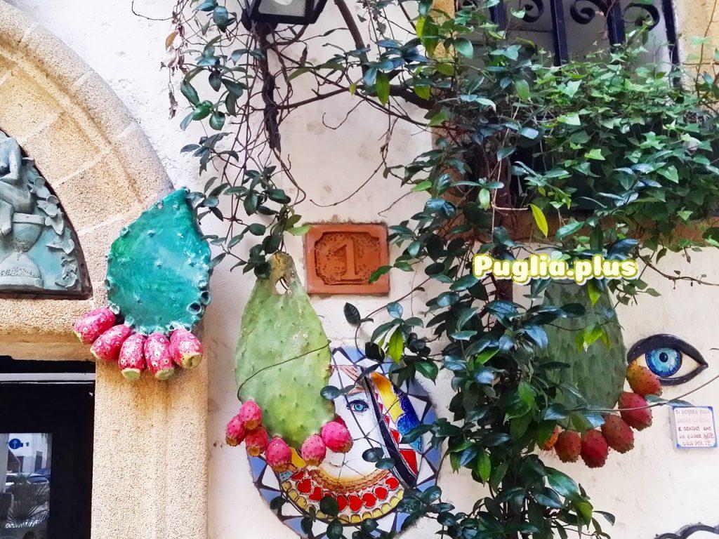 Kaktusfeigen-Deko aus dem Hoch-Salento aus Oria