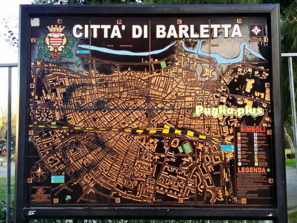 Stadtpläne von Barletta