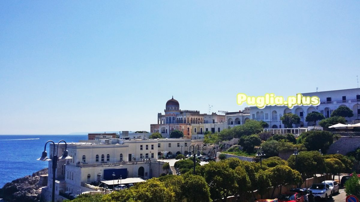 Die Altstadt von Santa Cesarea Terme – Kurort im Salento