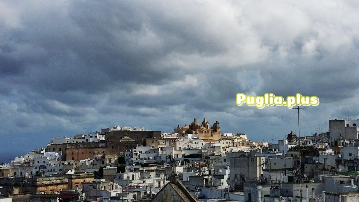 Die Altstadt von Ostuni, der weißen Stadt