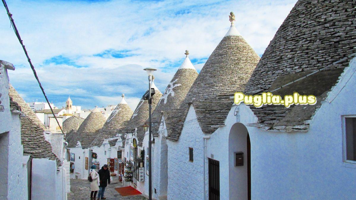 Altstadt von Alberobello – das Dorf der Trulli
