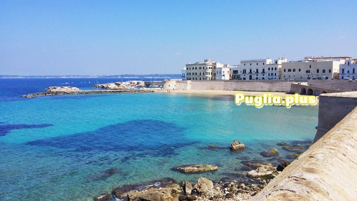 Altstadt von Gallipoli auf einer Insel im Ionischen Meer