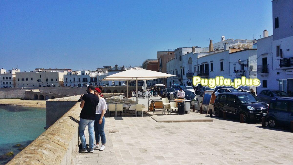 Ferienwohnungen am Strand in Gallipoli in der Altstadt