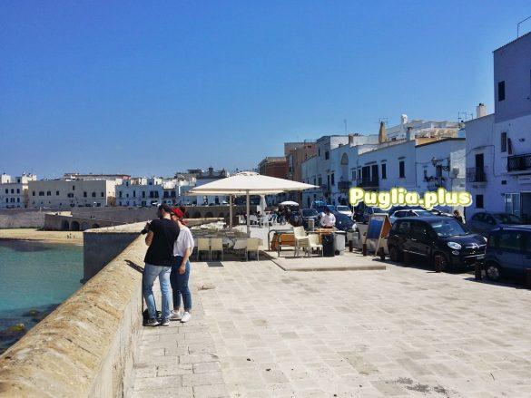 Gallipoli Ferienwohnung in der Altstadt am Strand