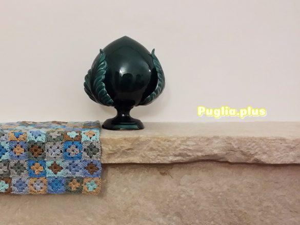 Großer Pumo als Dekoration für den Kamin