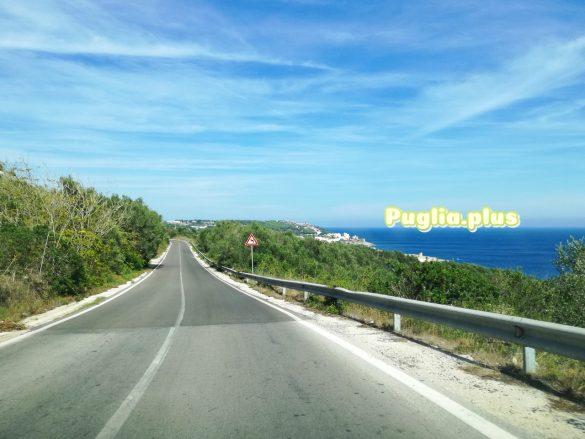 Mit Straßenkarte und Navi in Apulien