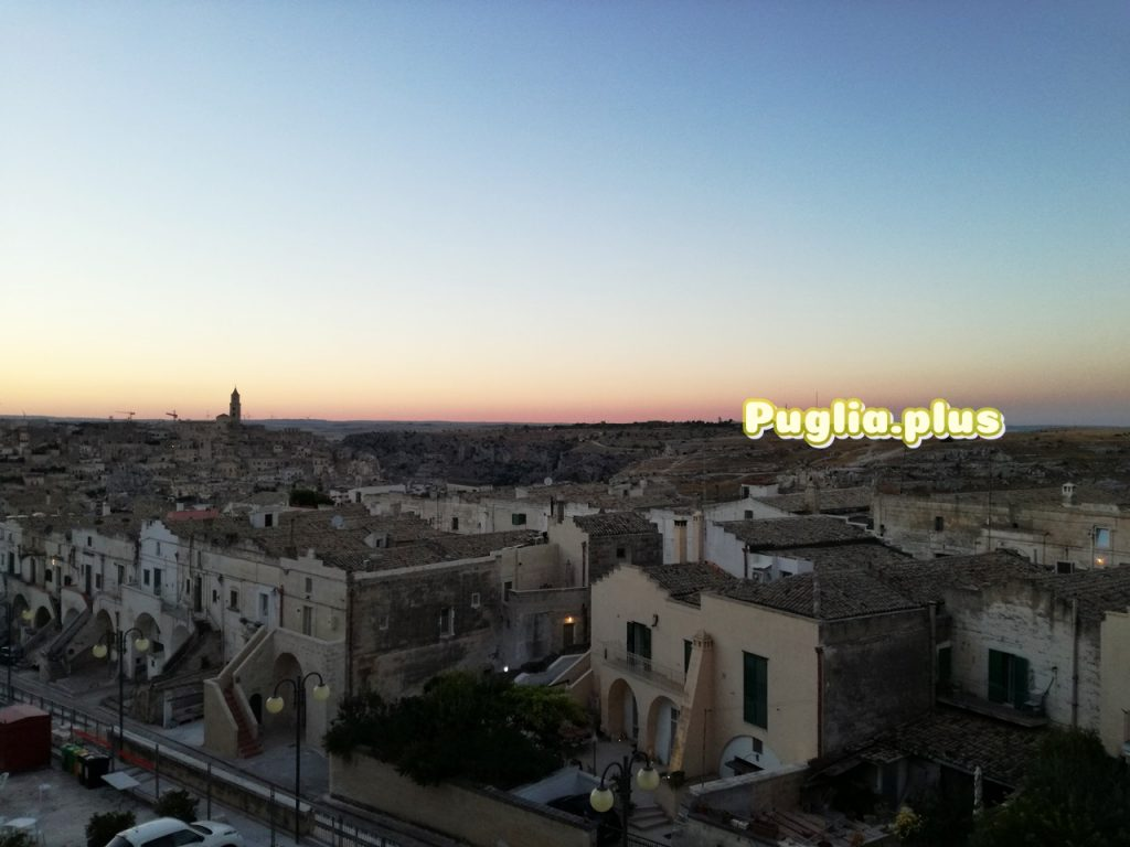 Abends in Matera