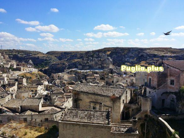 Matera atemberaubende Schluchtenstadt mit Höhlenwohnungen