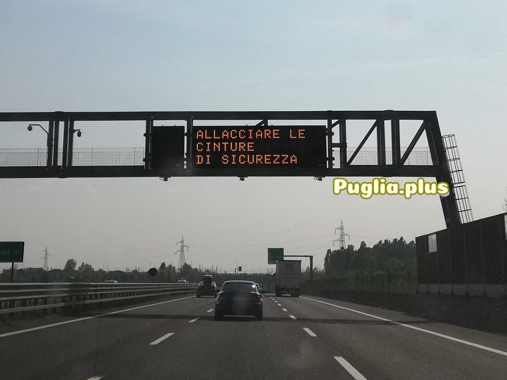 Sicherheit während der Fahrt auf der Autobahn