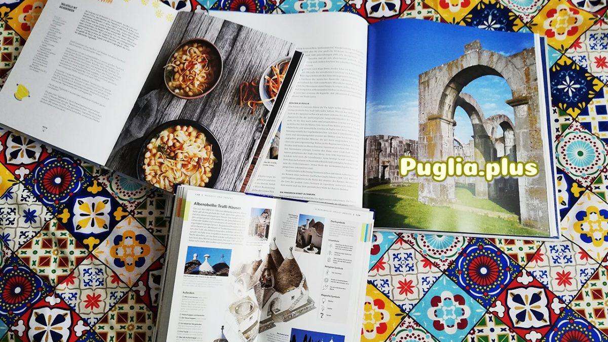 Fachbücher über Apulien: Reiseführer, Kunst, Rezepte, Kalender und Leben
