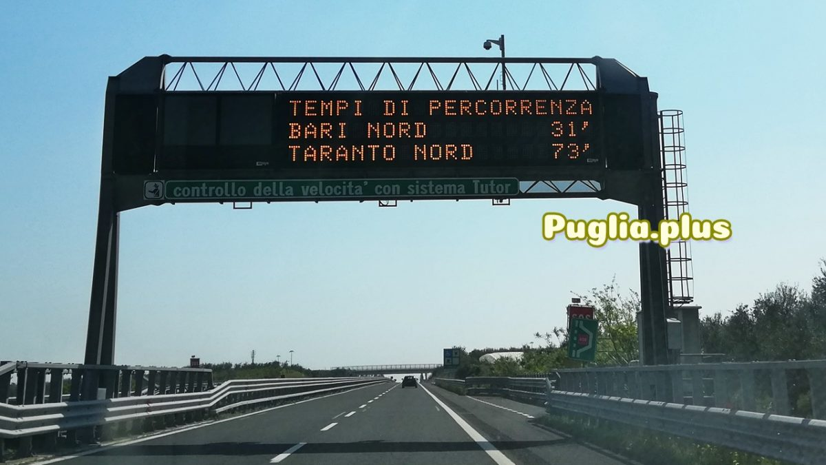 Die wichtigsten italienischen Wörter beim Autofahren: Verkehrsschilder auf der Autobahn