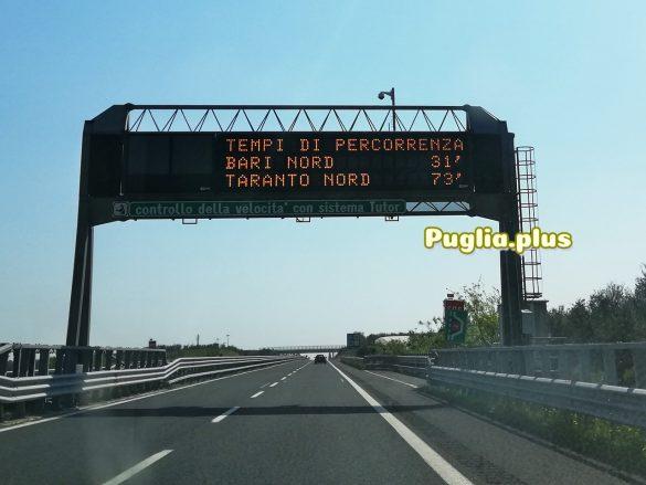 Nur mehr 31 Minuten nach Bari
