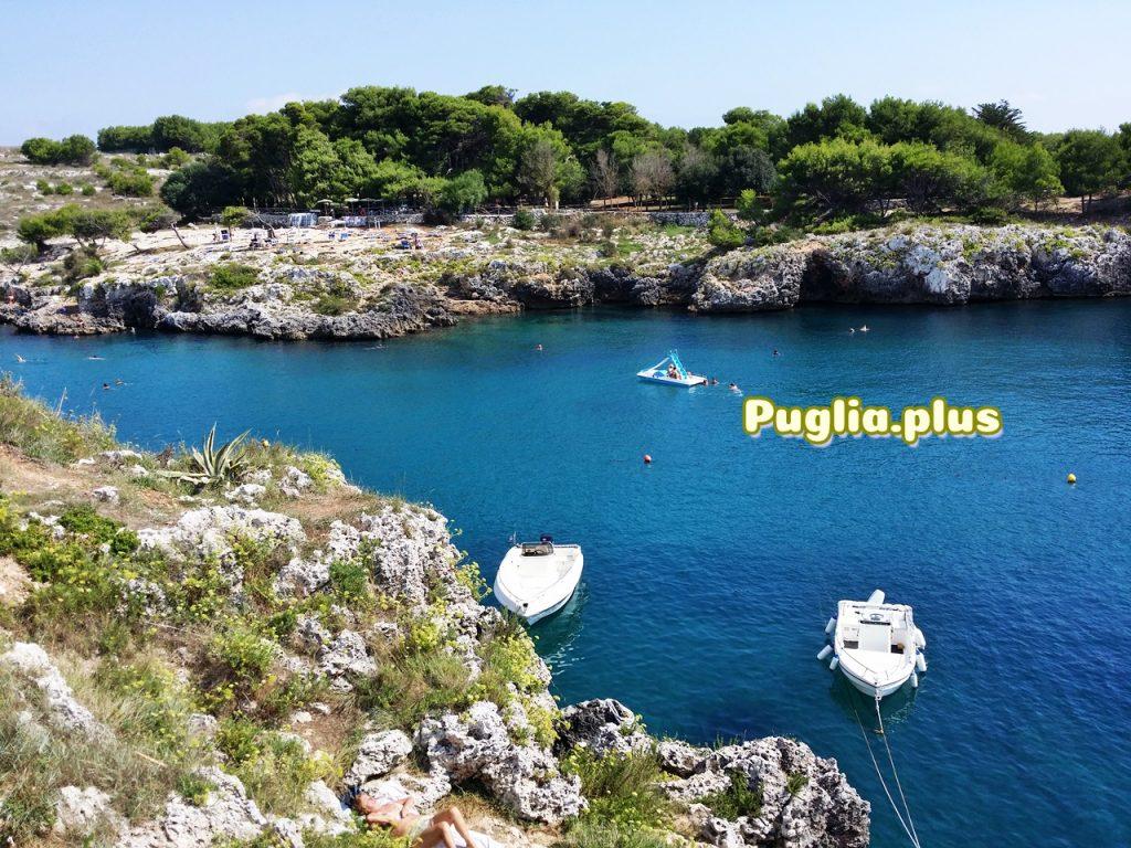 Paradies zum Schwimmen, Paddeln, Tretbootfahren: Porto Badisco
