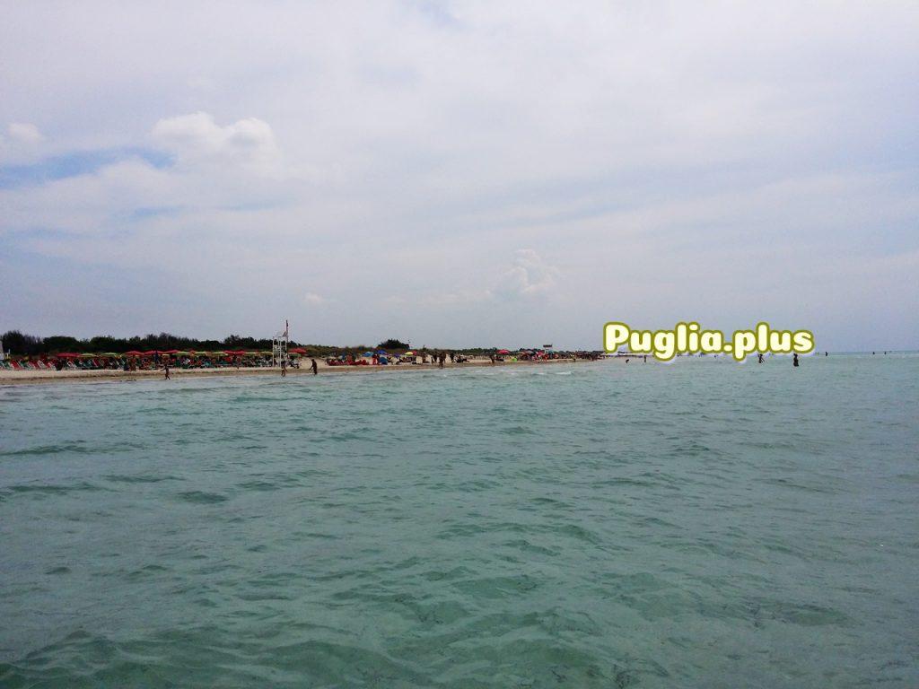 unglaublcihe weitläufier schöner Strand, Torre San Giovanni