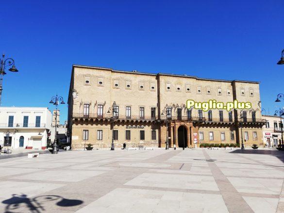 Manduria Stadtzentrum Piazza Garibaldi