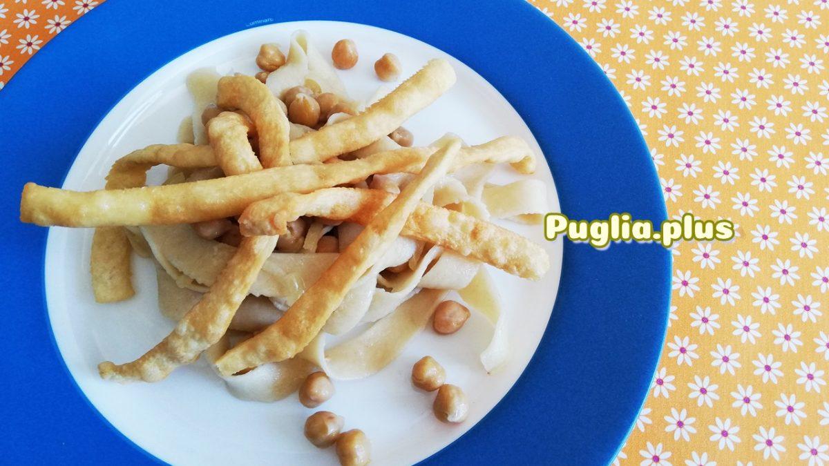 Rezept Ciceri e tria – Pasta mit Kichererbsen aus Apulien