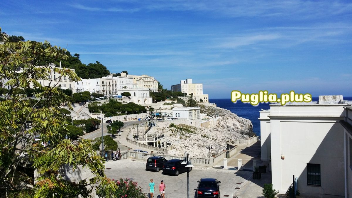 Hotels im Kurort am Meer Santa Cesarea Terme
