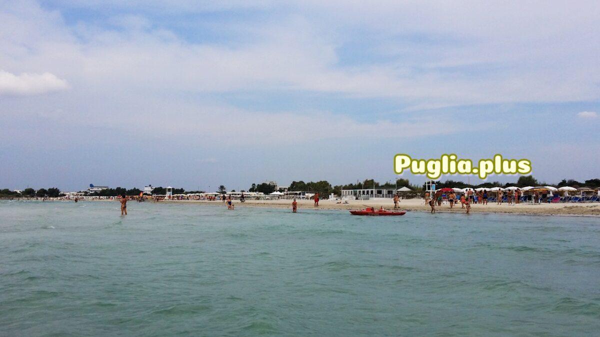 Ferienwohnung am Strand von Torre San Giovanni, Salento